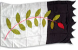 An example of complex custom banner design: Olive Branch