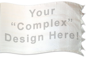 "The design ""Custom design (Complex)"" in hand crafted silk"